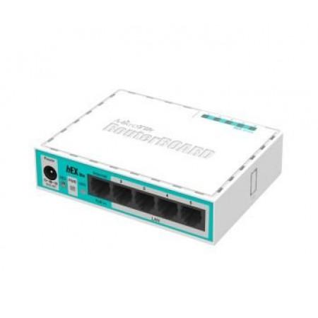 5-портовый маршрутизатор MikroTik hEX lite (RB750r2)
