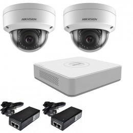 Комплект IP видеонаблюдения Hikvision KIT-DS0152
