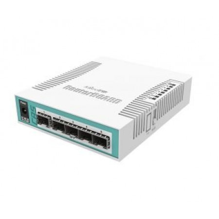 6-портовый маршрутизатор MiktoTik CRS106-1C-5S