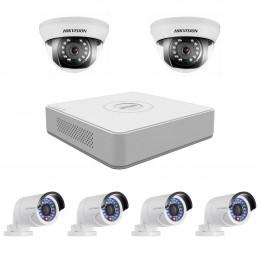 Комплект TurboHD видеонаблюдения Hikvision KIT-DS0246
