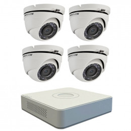 Комплект TurboHD видеонаблюдения Hikvision KIT-DS0182