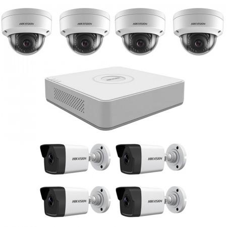 Комплект IP видеонаблюдения Hikvision KIT-DS0243