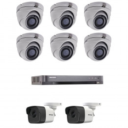 Комплект TurboHD видеонаблюдения Hikvision KIT-DS0267
