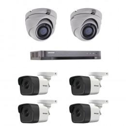 Комплект TurboHD видеонаблюдения Hikvision KIT-DS0258