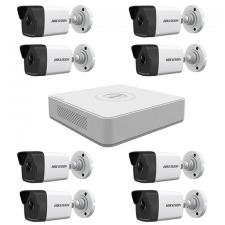 Комплект IP видеонаблюдения Hikvision KIT-DS0221