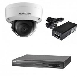 Комплект IP видеонаблюдения Hikvision KIT-DS0165