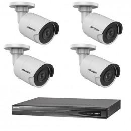 Комплект IP видеонаблюдения Hikvision KIT-DS0168