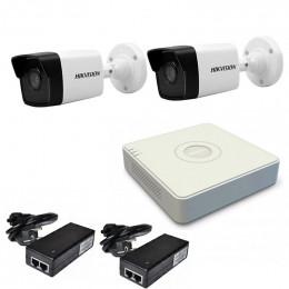 Комплект IP видеонаблюдения Hikvision KIT-DS0137